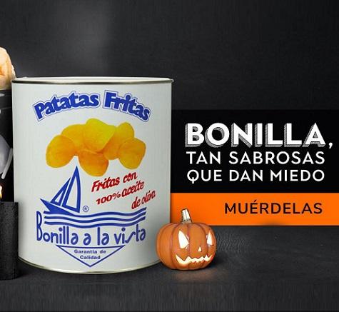 ¿Patatas fritas en Halloween? O mejor dicho, ¡patatas fritas por Samaín!