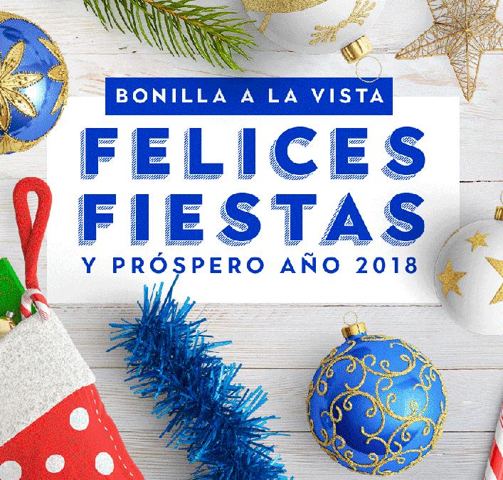 ¡Felices Fiestas y felices #momentosBonilla!