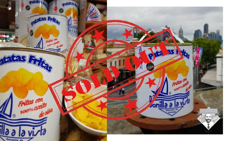 """""""Sold out"""" de Bonilla a la Vista en Australia"""